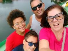Silvia e familia